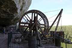 La roue  La Roque St Christophe