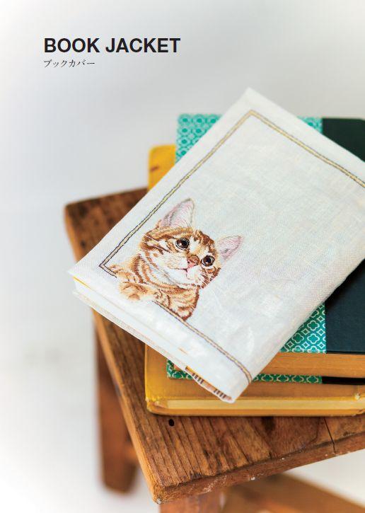 まるでホンモノが顔を出しているよう! リアル過ぎるネコ刺繍シャツがすごい | ダ・ヴィンチニュース