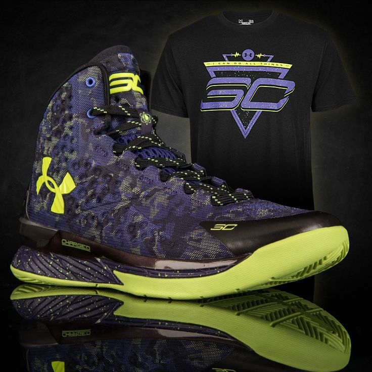 The ASG Under Armour Curry 1 is back in stock! Grab the SC30 Future Tee for a clean Curry combo! #StephenCurry