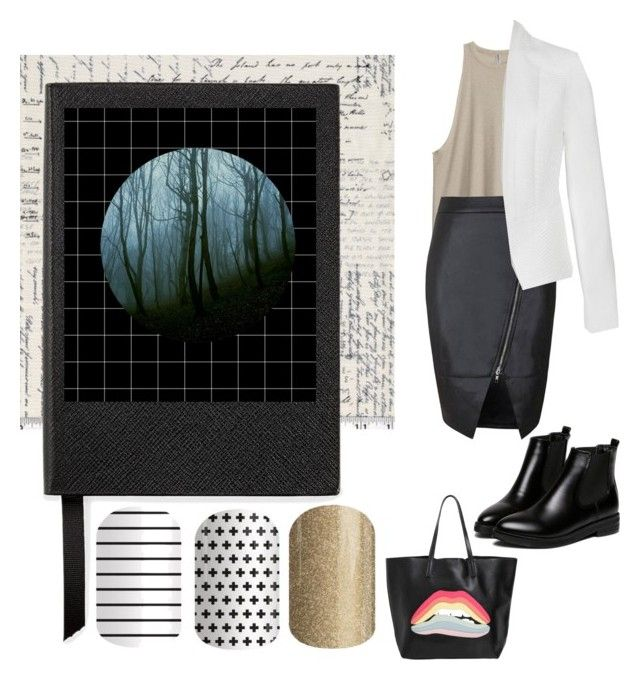 """""""Untitled #40"""" by staceywilson-2 on Polyvore featuring Smythson, WithChic, RED Valentino and Ally Fashion"""