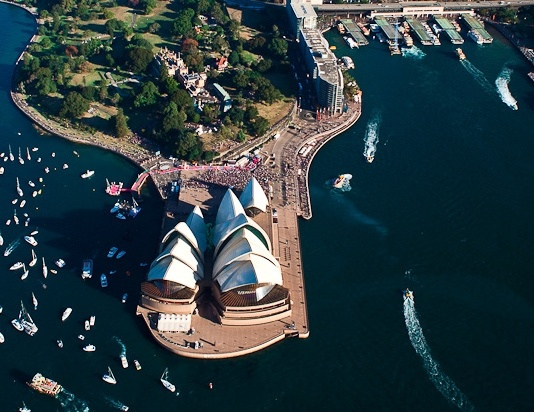 Sydney Opera House. Designed by Danish architect Jørn Utzon and situated prominently on Bennelong Point in Sydney Harbour, it opened in 1973. The Sydney Opera House was designated a UNESCO World Heritage Site in 2007.