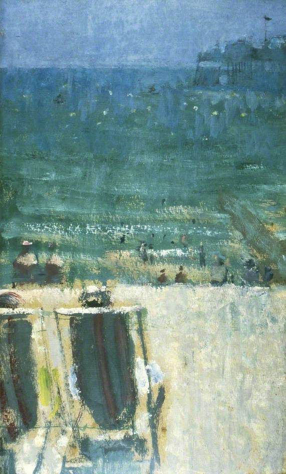 Brighton Beach, East Sussex - ruskin spear