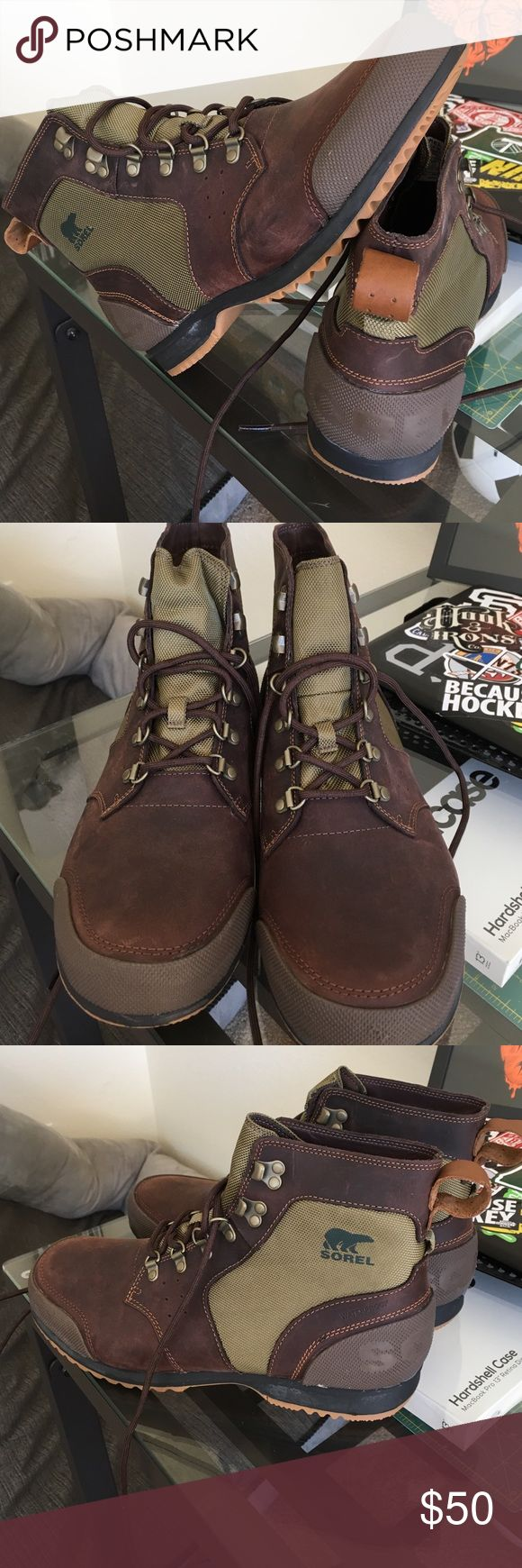 Sorel Men's Boots Sorel Men's boots. Size 12. Only tried on. Sorel Shoes Boots