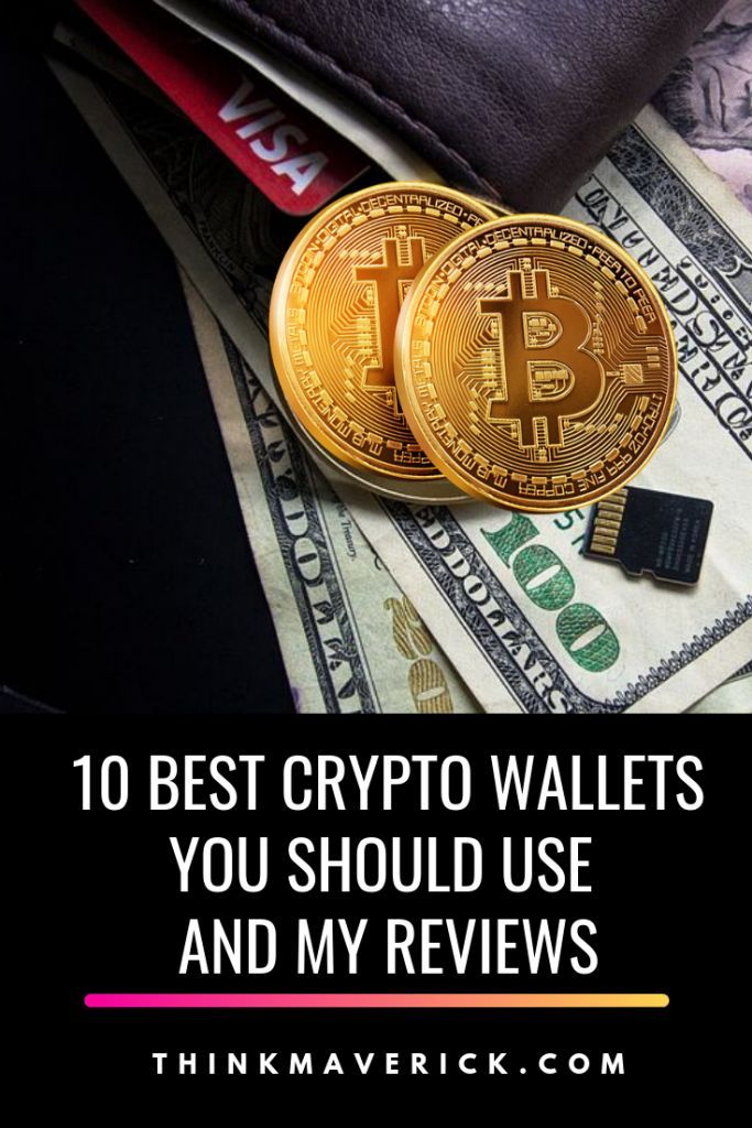 10 Best Bitcoin Wallets You Should Use To Protect Your Crypto Investment Thinkmaverick My Personal Journey Through Entrepreneurship Bitcoin Wallet Best Crypto Crypto Money