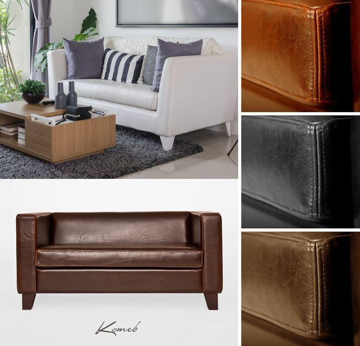 Sofa Moena.... lekka i elegancka, a dzięki prostej formie sprawdzi się nowoczesnym salonie. Dostępna jest w wielu bardzo stylowych wariantach kolorystycznych.