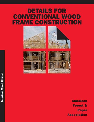 WCD 1 - Details for Conventional Wood Frame Construction