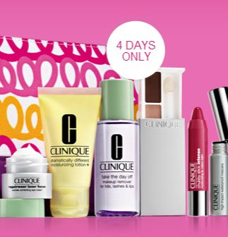 FREE 7-Piece Clinique Gift with Purchase! Hurry, ends soon!- The Prudent Patron