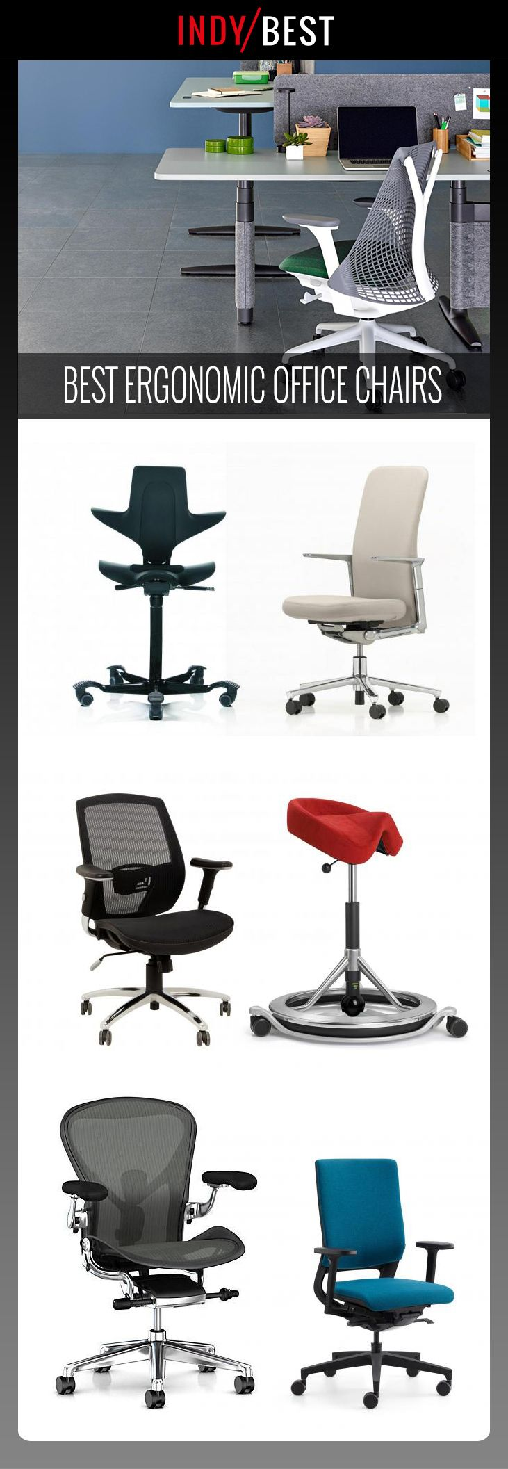 Best office chair for neck pain - 9 Best Ergonomic Office Chairs