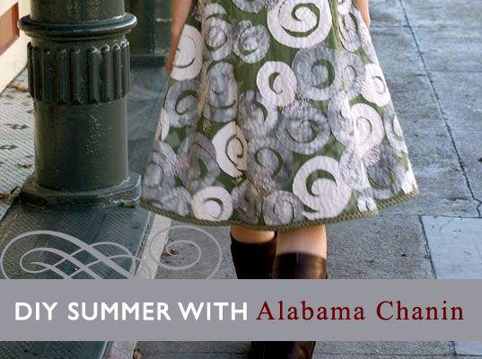 Natalie Chanin Clothing   , Natalie Chanin, appliques, DIY summer, DIY tutorials, eco-fashion ...