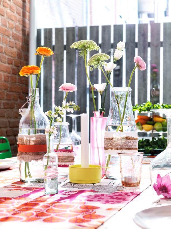 De EINSIDIG vazen zijn er in verschillende maten. Zo is er voor ieder wat wils! #IKEA #moederdag