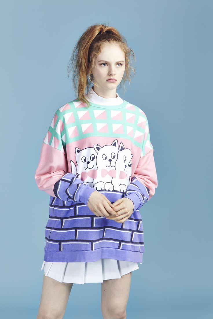Kitty Cat Sweatshirt