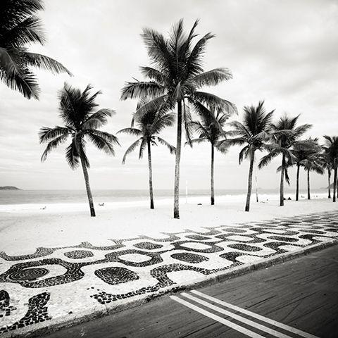 Bonni Benrubi Gallery - Josef Hoflehner - Ipanema Palms – Rio de Janeiro, Brazil