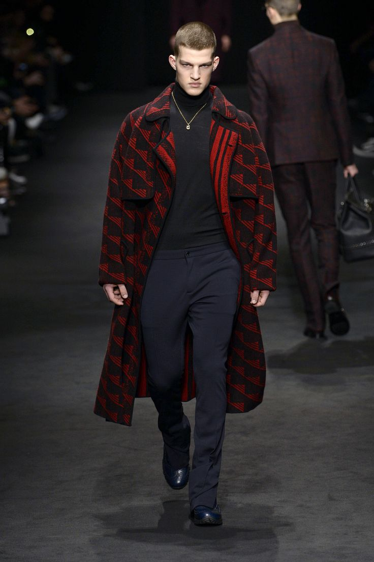 Versace | Menswear - Autumn 2017 | Look 3