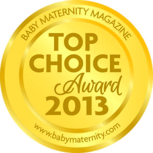 Kitabımızın kazandığı ödül... Amerika'nın saygın dergilerinden Baby Maternity Magazine, Top Choice Award 2013 ödülünü Bebeğinizle Birlikte Uyumak kitabımıza verdi.