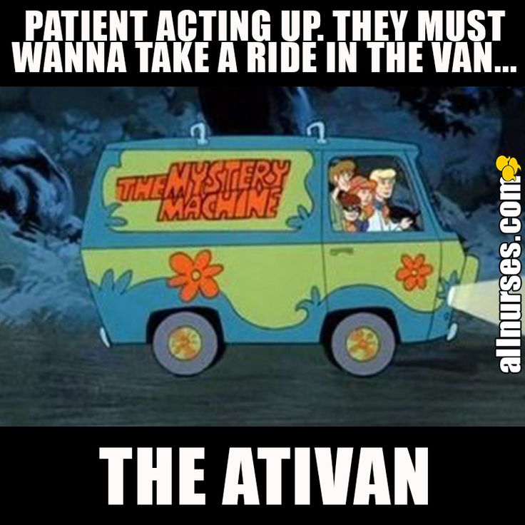 take a ride in the ativan
