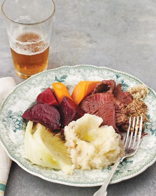 Might try this for St. Patty's Day.: Cabbage Recipes, Uncorned Beef, Cabbages, Food, Saint Patrick'S Day, St. Patrick'S Day, Patricks, Martha Stewart
