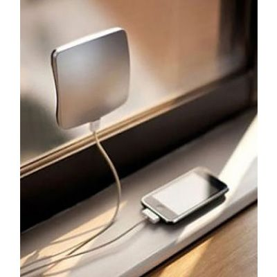 It's bad enough when your phone dies at home, but when you're traveling and can't find an outlet, or your international adapter's gone AWOL, it's a different kind of a nightmare. This genius little charger is 100% solar-powered; all you need is a window — on a train, in a car, or in your room — and boom: You've got juice. It's both convenient and environmentally friendly.