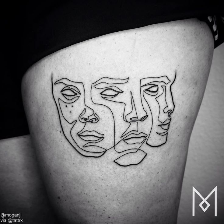 Mo Ganji | Berlin Germany Specializing in custom, single line tattoos. info@moganji.com
