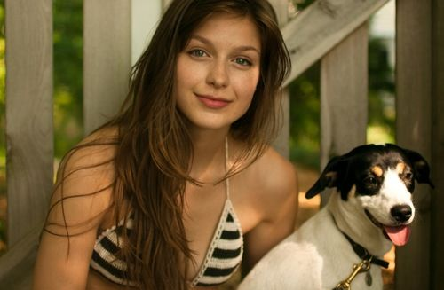 {Melissa Benoist} Hi! I'm Malina Benoist-Jenner. I'm the daughter of Melissa Benoist and Blake Jenner. I'm 16 and single. This is my puppy Finn. I love singing, acting, dancing, skateboarding, and drumming. Come say hi!