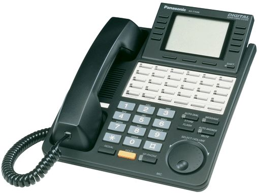 Panasonic KX-T7436 Handset In Black - HeyMot Communications