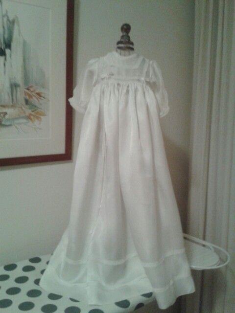 Mijn doop jurk.