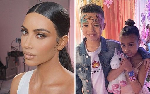 Kim Kardashian, North West Kim Kardashian and North West