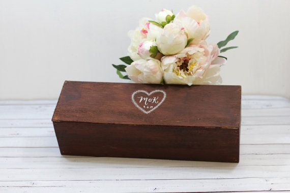 Personalized Wedding Wine Box