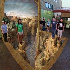 The Grand Canyon – 3D Street Art