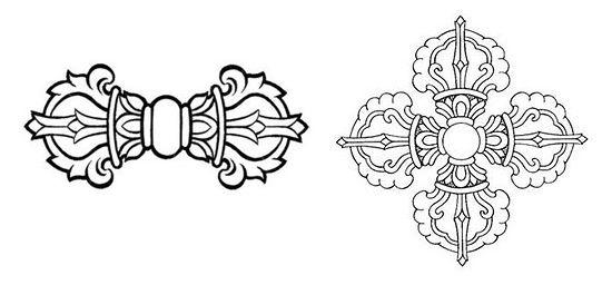 10 id es propos de symboles bouddhistes sur pinterest hindouisme tatouage zen et bijoux de. Black Bedroom Furniture Sets. Home Design Ideas