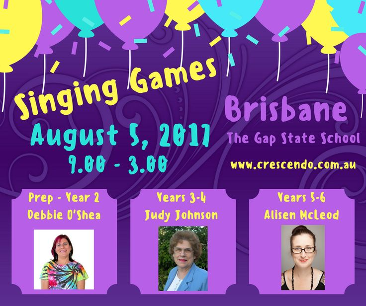 Don't miss this great PD on Saturday August 5th, 2017 in Brisbane.