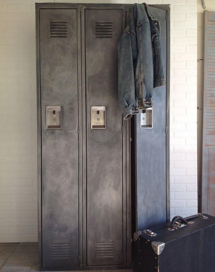 Distressed Metal Lockers | Revisit Warehouse