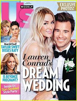 Lauren Conrad's Wedding Dress Revealed in 1st Wedding Photo to William Tell
