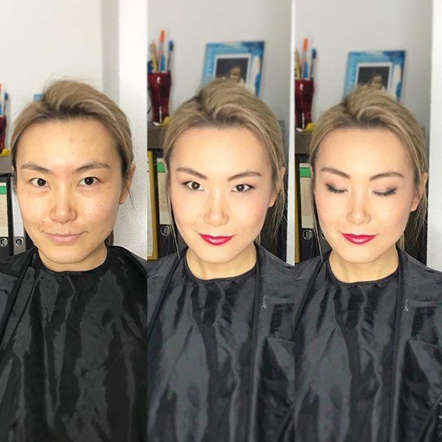 Chinese Makeup Glamorous Frankfurt Germany Before And After Makeup Nataliesetareh Com Chinese Makeup Glamour Makeup
