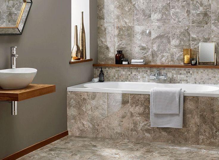 89 best floor tiles images on pinterest porcelain tiles bathroom ideas and bathrooms d cor Design your own bathroom uk