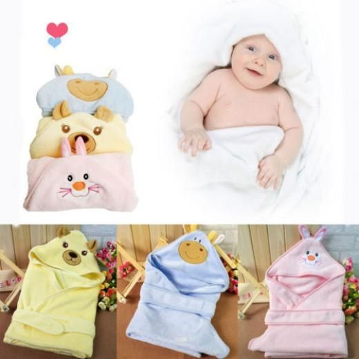 Baby Infant Newborn Bath Towel Washcloth Bathing Feeding Wipe Cloth Soft Blanket