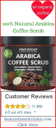 100% Natural Arabica Coffee Scrub for Cellulite, Stretch Marks, Spider Veins, and Wrinkles. Click here -> http://bestandsmartchoice.com/wrinkles/anti-aging-wrinkles-cellulite-stretch-marks-spider-veins-wrinkles/