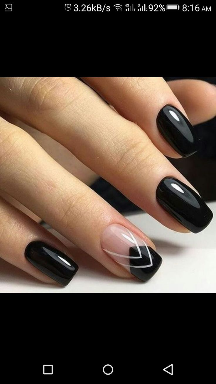 Lorde inspired nail tutorial - Most Amazing Manicure Ideas For Catchier Nails Pouted Online Lifestyle Magazine
