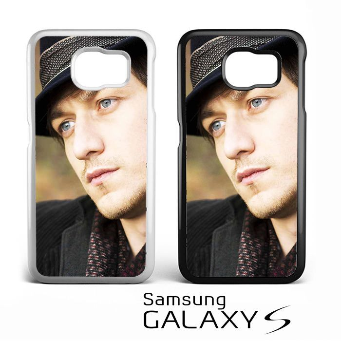 James Mcavoy with Black Hat for Samsung Galaxy S3/S4/S5/S6/S6 Edge/S6 Edge Plus/S7 Phonecases