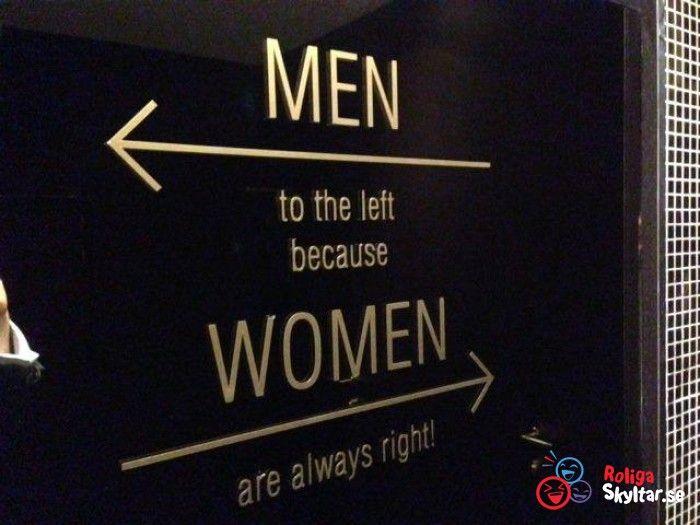 Rolig toalett skylt
