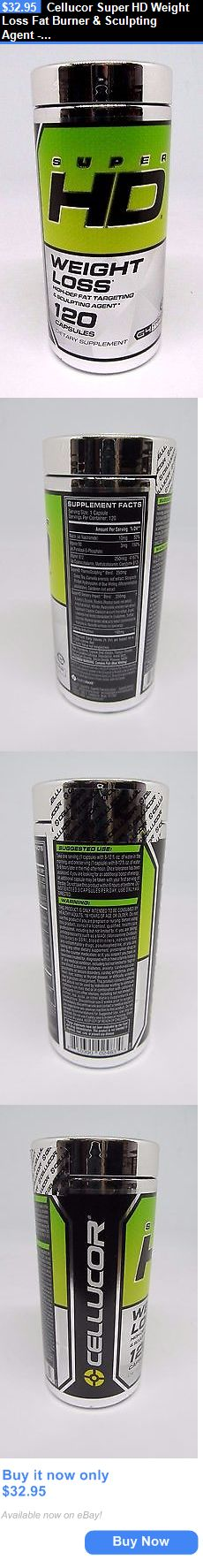 Sports Diet and Weight Loss: Cellucor Super Hd Weight Loss Fat Burner And Sculpting Agent - 120 Capsules BUY IT NOW ONLY: $32.95 ()