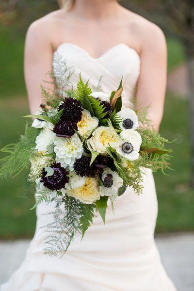 Beautiful bouquet for a #fall wedding {Erin Johnson Photography}