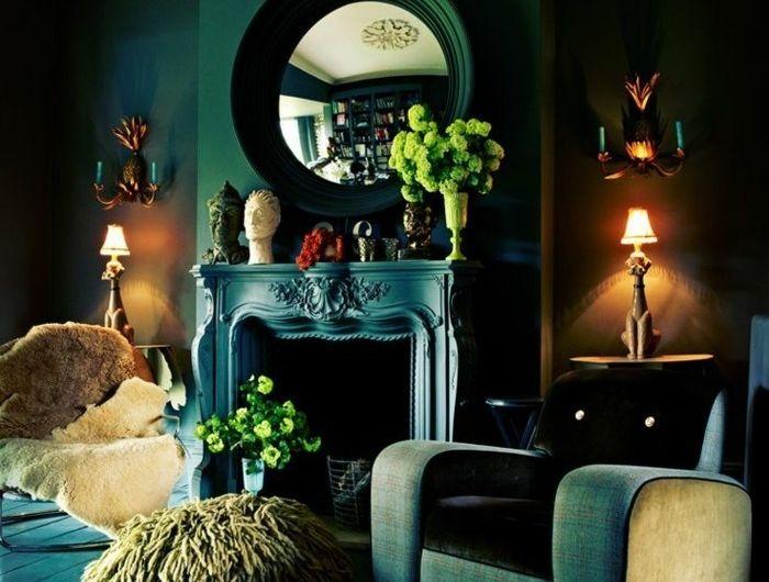 Die besten 25+ Wandfarbe petrol Ideen auf Pinterest