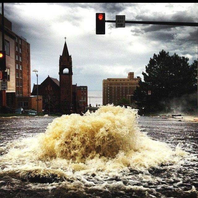 2012 Flood In Duluth MN I Was Living There When This Happened