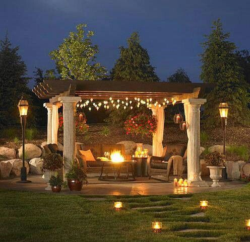 485 best outdoor lighting ideas images on pinterest gardens gardening and landscaping - Landscape Lighting Design Ideas