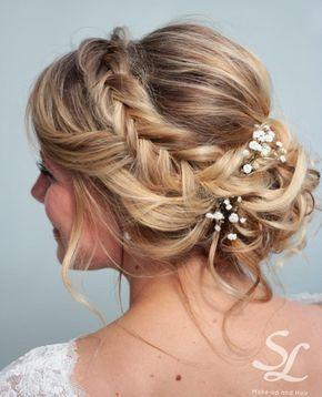 Hochzeitsfrisur – Hochzeit Frisuren – #Frisuren …