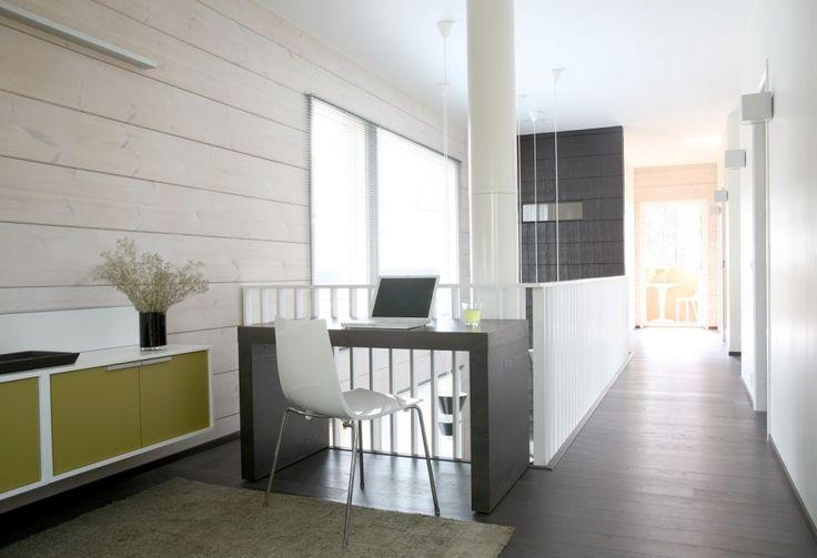 Honka Blockhaus Modell Rock Innenbereich