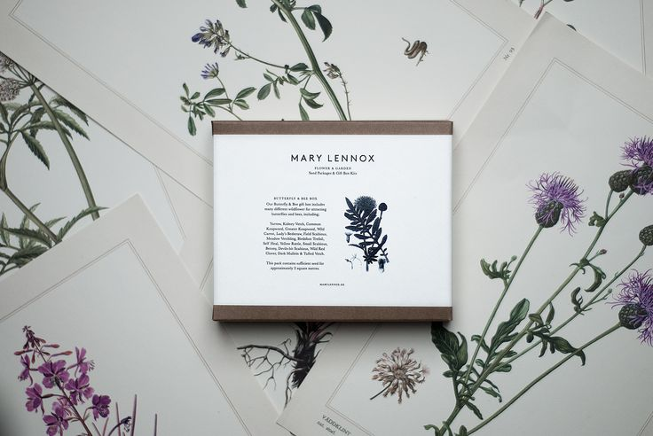 Mary Lennox Butterfly & Bee Box, available from TypeO.se
