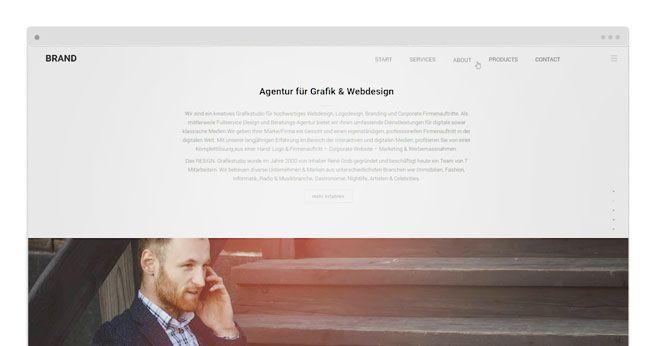 Der aktuelle Trend: Storytelling auf der Website. Verpacken Sie Ihr Produkt in eine Geschichte und erzählen Sie diese auf einer Onepage. Kompakt, benutzerfreundlich und zielführend. Überzeugen Sie sich selber! www.resign.ch/onepage