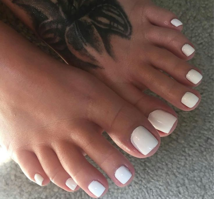 Pin On White Toes