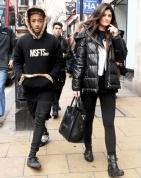 Kylie Jenner & Jaden Smith in london